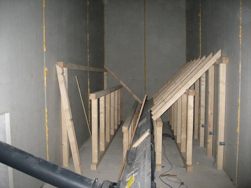 Im Bau befindliches Pelletslager